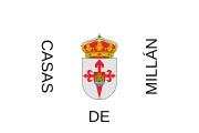 180px-Bandera_de_Casas_de_Millán.svg