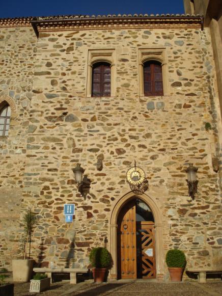 entrada hospederia guadalupe