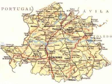 Mapa-de-la-Provincia-de-Cceres
