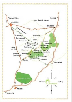 mapa-sierra-montanchez-benque