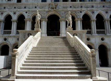 escalera de los gigantes