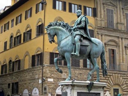 Estatua ecuestre Cosme I (Florencia) (2)