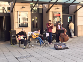 musicos calle