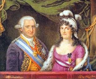 Carlos IV y Maria Luisa de Parma