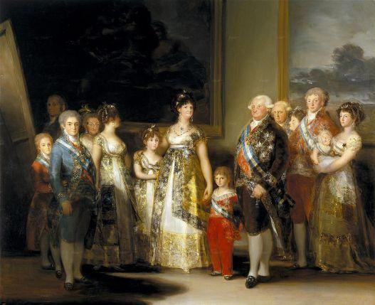 familia-de-carlos-iv