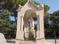 IX estación de Via Sacra
