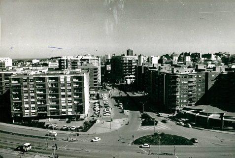 Avenida de colón cruce autopista 1985