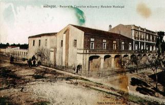 cuartel santo domingo, de intendencia y Matadero municipal en 1910
