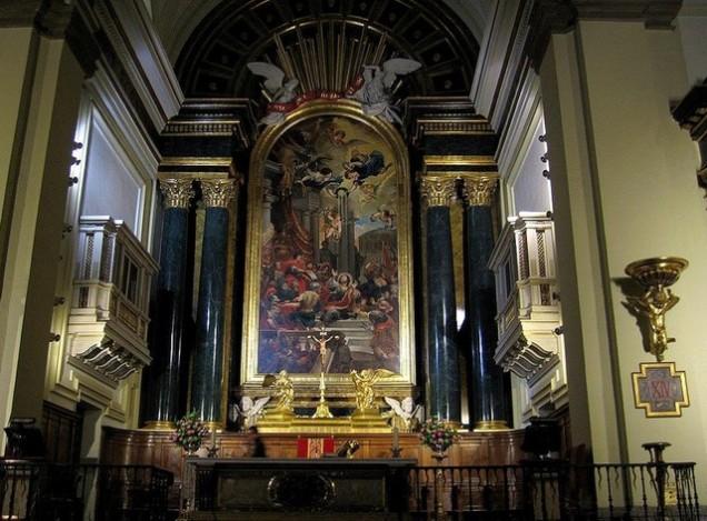 retablo iglesia san ginés