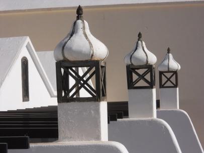 Costa Teguise, chimeneas