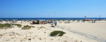 Praia da Ilha de Tavira, concelho de Tavira, Portugal